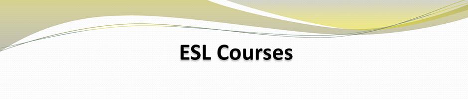 esl courses