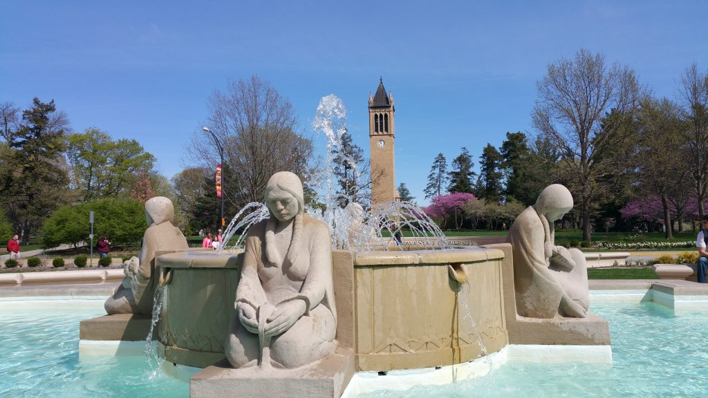Fountain of the Four Seasons at the MU